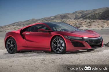 Insurance for Acura NSX