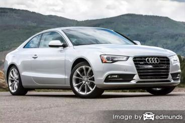 Insurance quote for Audi A5 in Bakersfield