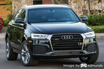Insurance rates Audi Q3 in Bakersfield