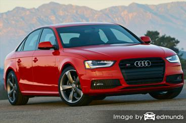 Insurance quote for Audi S4 in Bakersfield