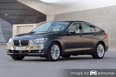 Insurance rates BMW 535i in Bakersfield
