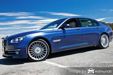 Insurance quote for BMW Alpina B7 in Bakersfield