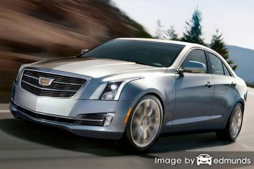 Insurance rates Cadillac ATS in Bakersfield