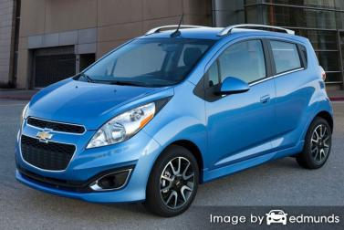 Insurance rates Chevy Spark in Bakersfield