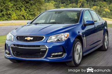 Insurance quote for Chevy SS in Bakersfield