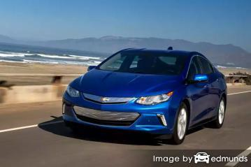 Insurance rates Chevy Volt in Bakersfield