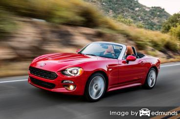 Insurance quote for Fiat 124 Spider in Bakersfield