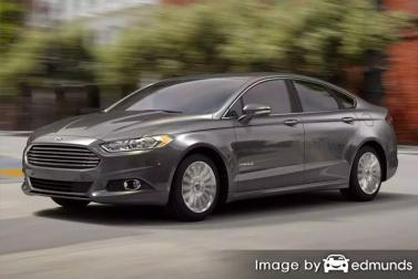 Insurance quote for Ford Fusion Hybrid in Bakersfield