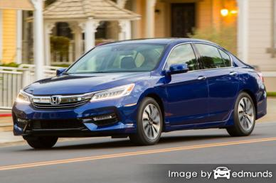 Discount Honda Accord Hybrid insurance