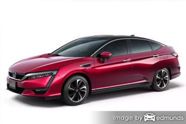 Insurance quote for Honda Clarity in Bakersfield