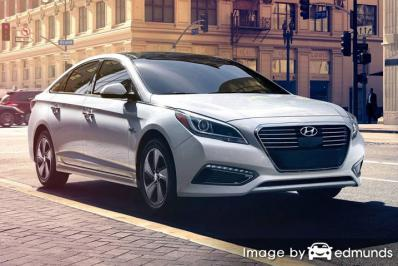 Insurance quote for Hyundai Sonata Hybrid in Bakersfield