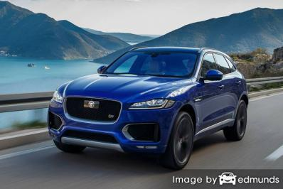 Insurance quote for Jaguar F-PACE in Bakersfield