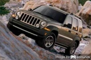 Insurance rates Jeep Liberty in Bakersfield