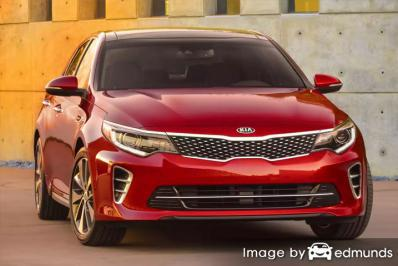 Insurance quote for Kia Amanti in Bakersfield