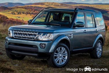 Insurance quote for Land Rover LR4 in Bakersfield