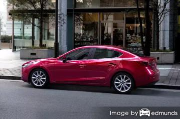 Insurance rates Mazda 3 in Bakersfield