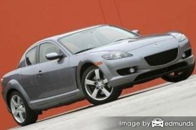 Insurance rates Mazda RX-8 in Bakersfield