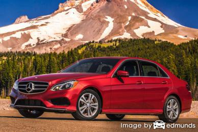 Insurance quote for Mercedes-Benz E350 in Bakersfield