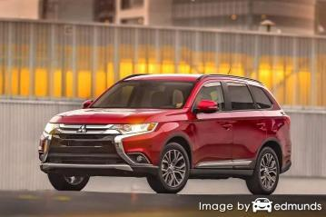 Insurance rates Mitsubishi Outlander in Bakersfield