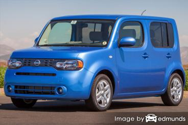 Insurance rates Nissan cube in Bakersfield