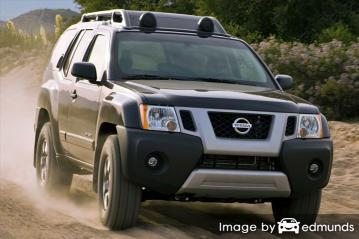 Insurance quote for Nissan Xterra in Bakersfield