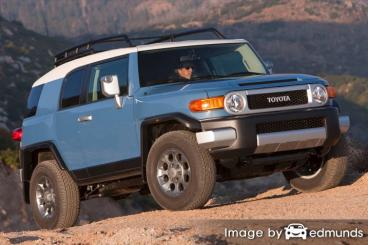 Insurance rates Toyota FJ Cruiser in Bakersfield