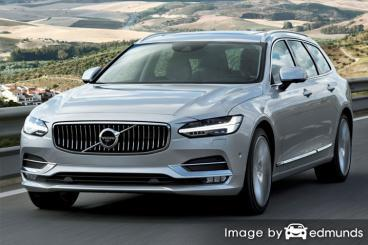 Insurance quote for Volvo V90 in Bakersfield